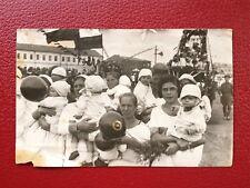 VINTAGE SOVIET PHOTO 1950's USSR PARADE in ORENBURG STALIN URSS. СССР ЧКАЛОВСК