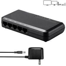 5 Port RJ45 10/100/1000 Mbps Gigabit Ethernet LAN Network Switch Hub Unmanaged