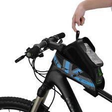 """ROCKBROS Fahrrad Rahmentaschen Wasserdichte Oberrohrtasche für 6,0"""" Handy Tasche"""