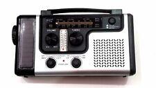 SOLAR POWERED RADIO FM/MW (AM) SHORTWAVE SW1/SW2 DYNAMO CHARGING LED FLASHLIGHT