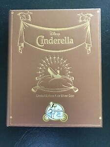 Disney Princess NZ Mint Cinderella 70th Coin - 1oz Silver (limited 1950 Mintage)