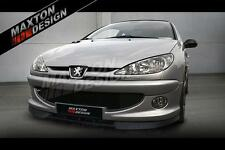 FRONT SPLITTER (TEXTURED) FOR PEUGEOT 206 (CC RC GTI S16 XSI XS SPORT)
