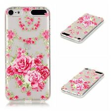 For iPod Touch 5th 6th Slim Gel Rubber Silicone Soft TPU Back Case Clear Cover