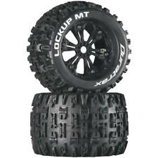 DTXC5032 Lockup 1//5 SC Sport Mounted Black 24mm 2  Duratrax