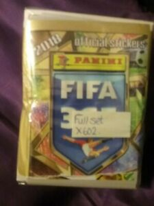 FIFA 365 2018 : FULL SET OF STICKERS X602