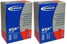 """2 x Schwalbe Schlauch Nr. 21 SV 27,5"""" Zoll 650B Sclaverandventil Fahrradschlauc"""