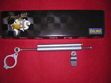 Ohlins Steering Damper 120mm Stroke with Fork Clamp. New,(