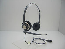 Plantronics HW301N EncorePro Binaural Office Telephone Noise Canceling Headset