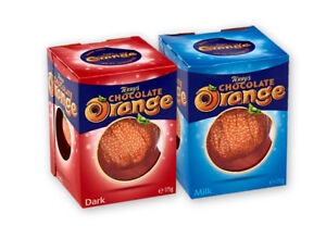 Terry's Chocolate Orange Ball Milk and Dark Real Orange Flavour