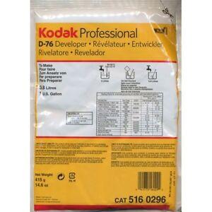 Kodak D-76 Developer for Black & White Film (Powder) Makes 1 Gallon