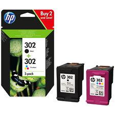 >> PACK 2 CARTOUCHEs HP 302 NOIRE +  COULEUR X4D37ae / cartouche noir 302 xl