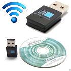 300Mbps USB Wireless WiFi Lan Network Receiver Card Adapter For Desktop PC JR