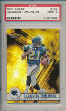 LaDainian Tomlinson 2001 Topps Finest #132 Rookie Card #/1000 rC PSA 9 Mint QTY