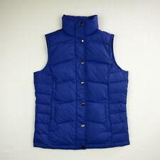 LANDS END Down Vest Women's XS 2-4 Blue/Purple