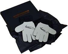 Jim Montgomery SIGNED Pair Goalkeeper Gloves Autograph Gift Box Sunderland COA