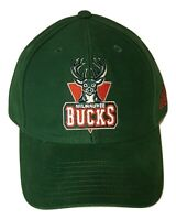 Adidas NBA Milwaukee Bucks Hat Structured Adjustable Cap