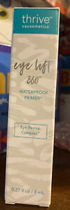 Thrive Causemetics Eye Lift 360 Waterproof Primer New in Box Full Size 0.27oz