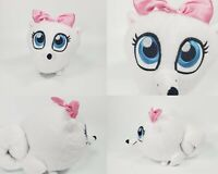 "The Secret Life of Pets 2 Gidget White Pomeranian Dog Plush Stuffed Animal 7"""