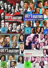 GREY'S GREYS ANATOMY  DIE KOMPLETTE STAFFEL 7 + 8 + 9 + 10 DVD DEUTSCH
