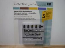 EK SUCCESS CUTTER BEE RETRACTABLE KNIFE BLADES REPLACEMENT 5 PACK NEW A18181
