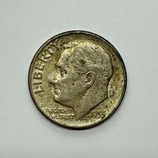 1955 (P) Roosevelt Dime, Uncirculated - 90% Silver .10 US Coin *3b28