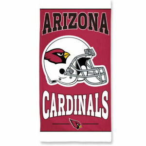 """Officially Licensed NFL Arizona Cardinals Beach Towel, 30"""" x 60"""""""