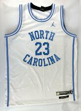 Michael Jordan #23 North Carolina Tar Heels Jersey White Blue XL Greats Glory