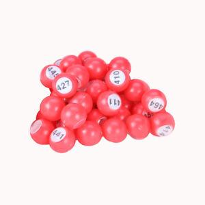 Numbered Raffle Bingo Balls 18mm 1-100,101-200, 201-300, 301-400, 401-500