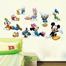 Disney Mickey Mouse,Minnie Mouse,Donald Duck,Daisy Duck Wall Sticker, Wall Decal