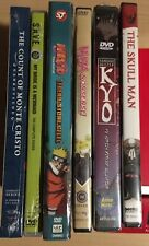 New Anime Six DVD Lot Oop Naruto, Ninja Nonsense Funimation