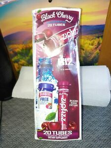 Black Cherry Zip Fizz 20 Tubes. Exp 11/21