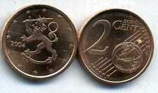 FINLANDE    2 cents  2004  SPL  neuve  ( sortie du rouleau )