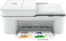 HP Deskjet Plus 4120 Tintenstrahldrucker Kopierer Scanner Fax WLAN weiß B-WARE