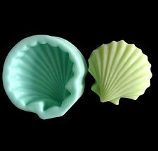 Shell Soap Mould Flexible Silicone Handmade Candy Candle Mold Resin Fimo Craft