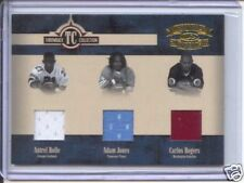 antrel rolle pacman carlos rogers 3x rookie jersey /100