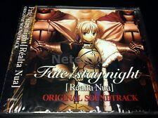 FATE/STAY night SOUNDTRACK CD Musi Realta Nua MIYA Records OST Anime