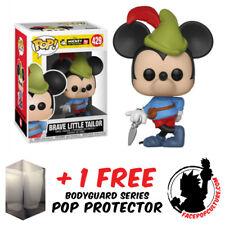 FUNKO POP DISNEY MICKEY MOUSE 90TH ANN PLANE CRAZY MICKEY FREE POP PROTECTOR
