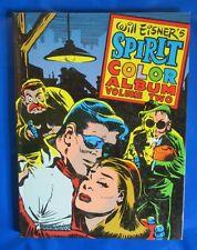 1982 THE SPIRIT Color Album Volume 2 HC FN+ Will Eisner Kitchen Sink