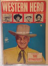 Fawcett WESTERN HERO Vol 15 / No 89 Comics original d'époque APRIL 1950
