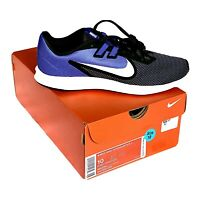 Nike Women's DownShifter 9 Running Shoes (size 10 ) - Black / Blue NEW