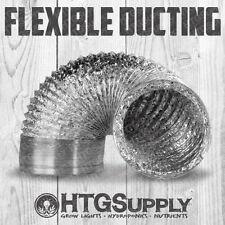 8 inch x 8' ft Flexible DUCTING hose exhaust fan Aluminum air foot ventilation