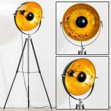 Lampadaire Design Luminaire Lampe sur pied Projecteur Lampe de sol dorée 147777