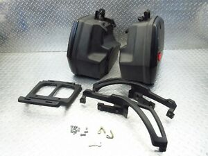 2000 96-01 BMW R1100 R1100RT OEM Saddlebags Brackets Luggage Storage Lot