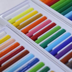 Oil Pastels Artist Pastels - Pack of 18 Assorted Colours Drawing Painting Arts
