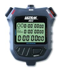 ULTRAK 493 300-Lap Stopwatch, Countdown Timer, Pacer