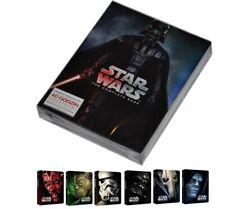 GWIEZDNE WOJNY STAR WARS CAŁA SAGA ZESTAW 9 PŁYTY COMPLETE SET 9 DISC BLURAY DVD