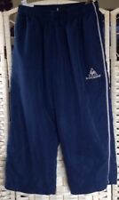 boys  blue le coq sportif tracksuit bottoms XLB