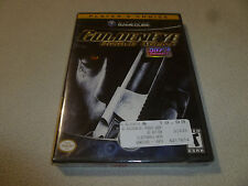 NEW FACTORY SEALED NINTENDO GAMECUBE GAME GOLDENEYE ROGUE AGENT 007 GOLDEN EYE >