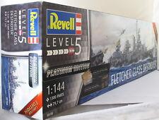 REVELL 1:144 05150 cacciatorpediniere della classe Fletcher gamma Platinum Kit Modello Nave