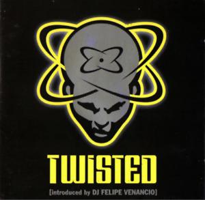 TWISTED: DJ FELIPE VENANCIO (1997) PETER RAUHOFFER DANNY TENAGLIA DJ FRIENDLY CD